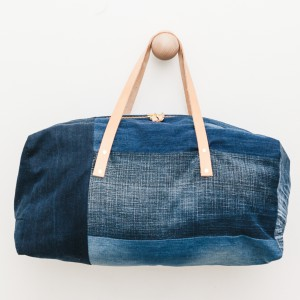 Recycled Denim Weekend Bag